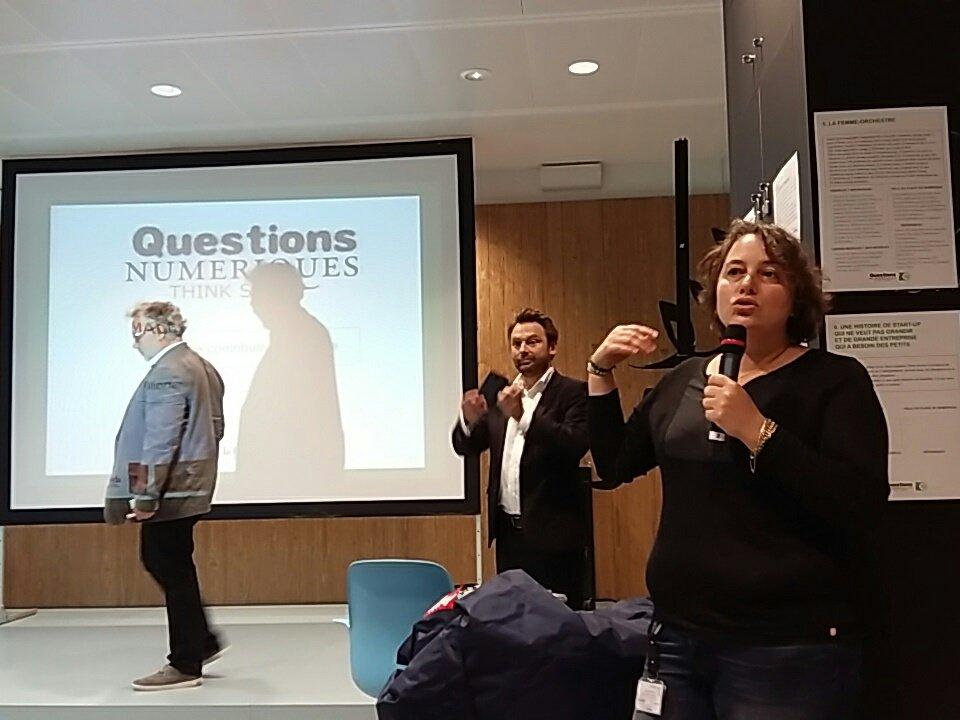 #lesdunes nous accueille dans des locaux tout neufs & hautement collaboratifs Lieu agile, souple, connecté qui favorise la mobilité #QNfing https://t.co/Zncfy521BG