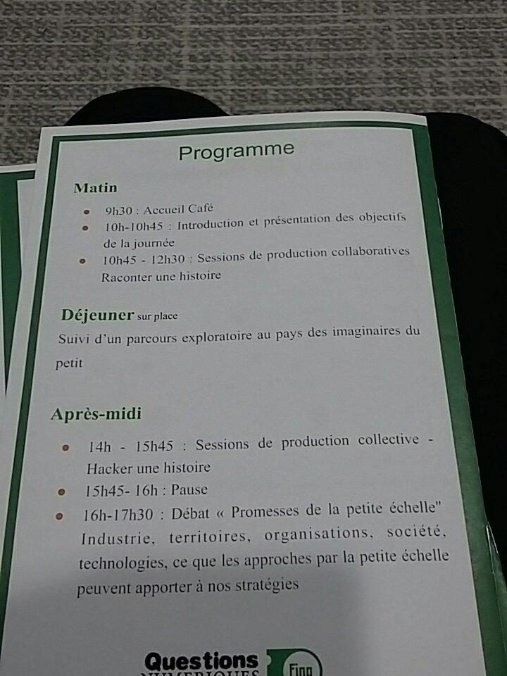 #qnfing un programme autour du collaboratif  ! #lesdunes @steflarc @HAZERA1 @FMDelasalles @sophiemaheo #leplateau https://t.co/yWOsGBWSZB