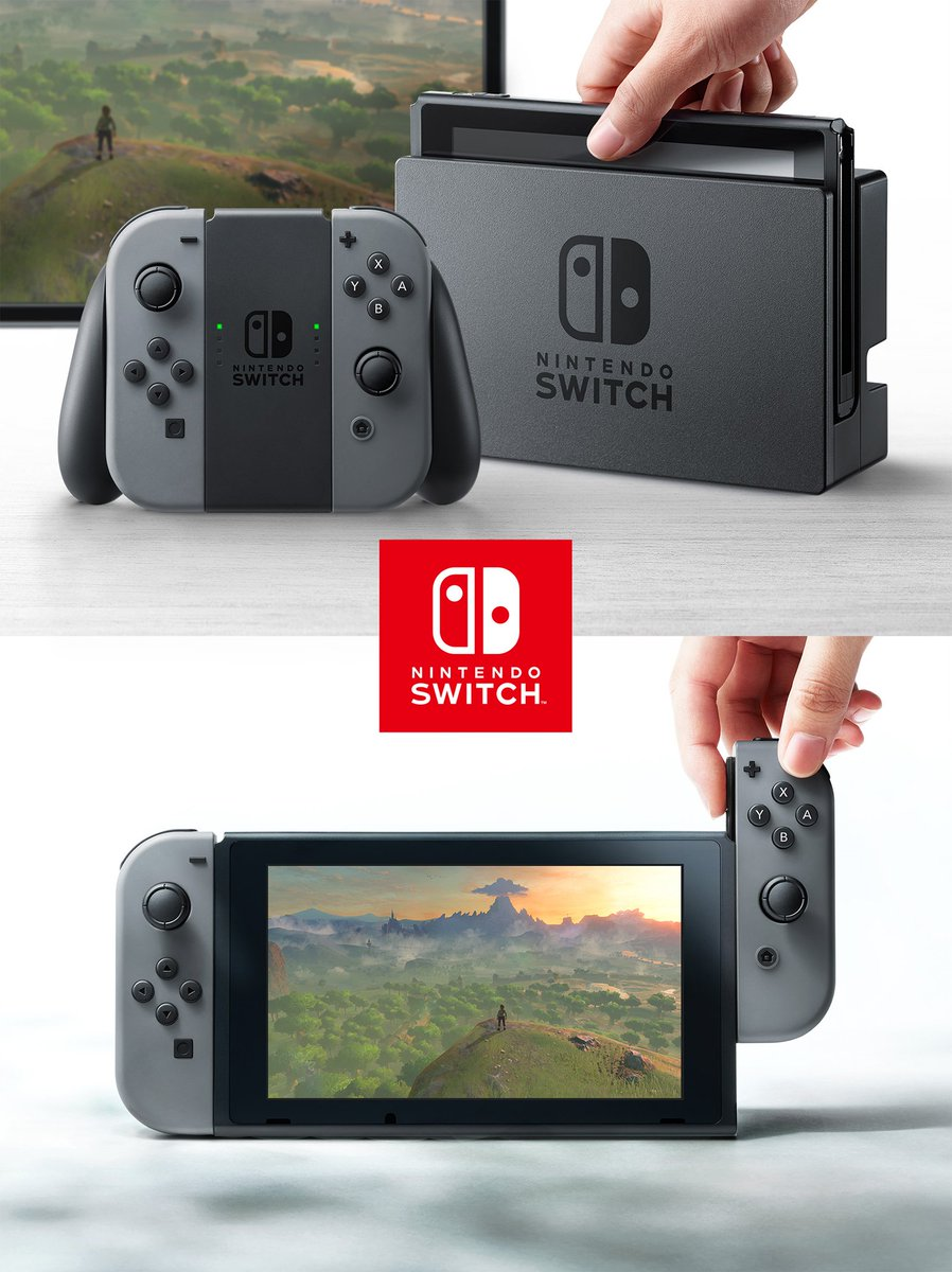 任天堂:新ハード「Nintendo Switch(ニンテンドースイッチ)」を発表! https://t.co/jy9gFwDBUT https://t.co/QCwdhHoaqY