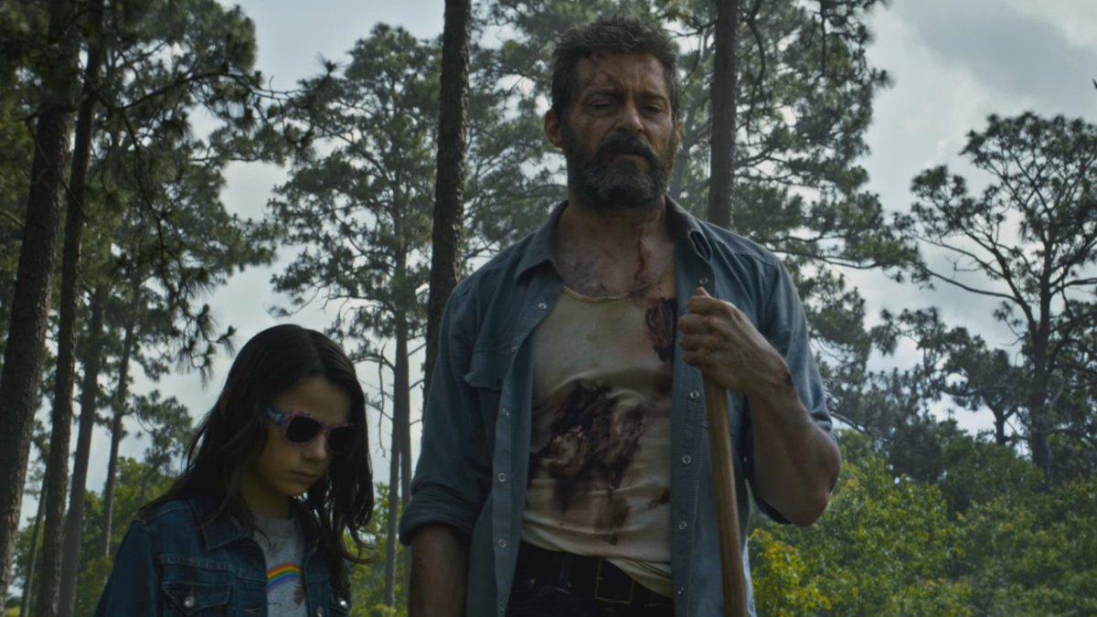 Laura Kinney e Logan Wolverine