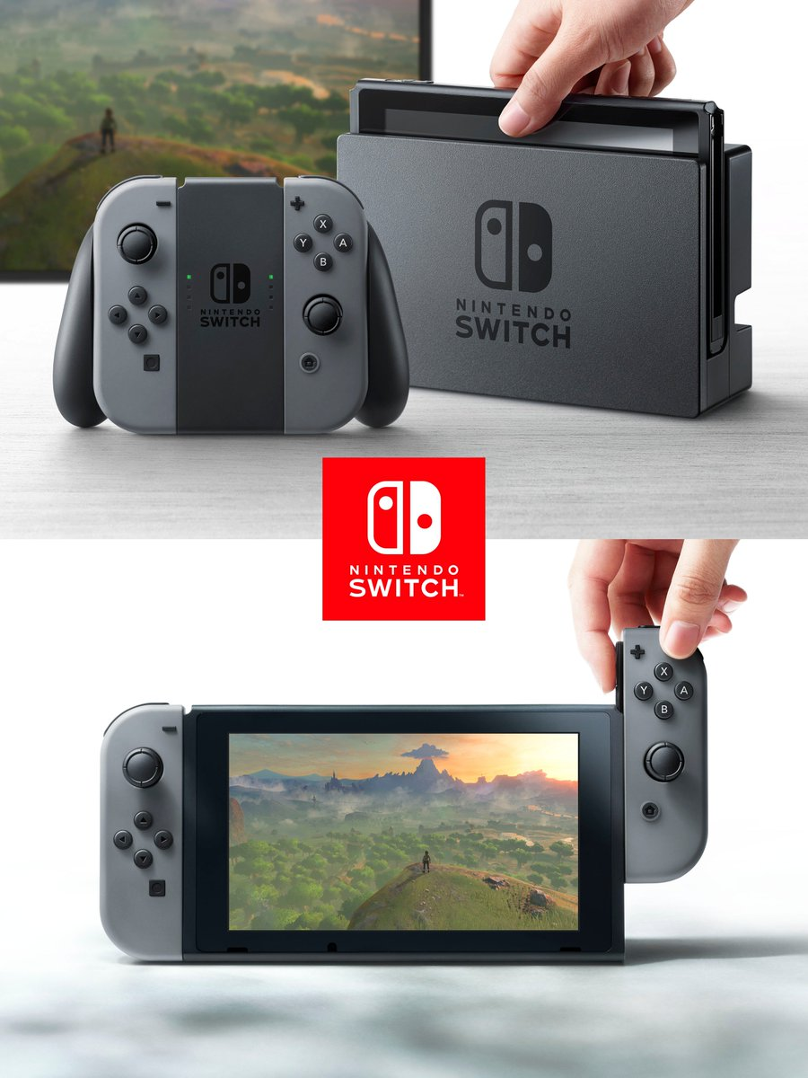 There it is... What do you think? #NintendoSwitch https://t.co/YADMOFxtgG #NintendoNX https://t.co/EYcvpAI5MD
