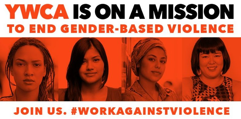 2pm ET: Join @YWCAUSA for tweet chat on policies surrounding gender-based violence, use #WorkAgainstViolence to join! #DVAM2016 https://t.co/SYZ1Fatt7T