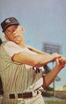 On this day in 1931: Mickey Mantle, the greatest switch hitter in baseball history, is born in Spavinaw, Oklahoma. https://t.co/PwQxys5AVU