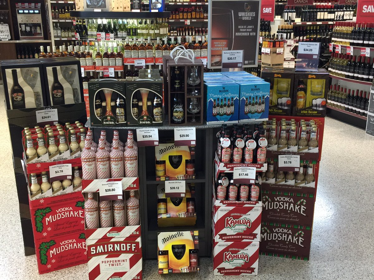 "NLC Liquor Store on Twitter: ""Gift packs are now available for Christmas! Thanks to our Paradise store for the picture and awesome display.… """
