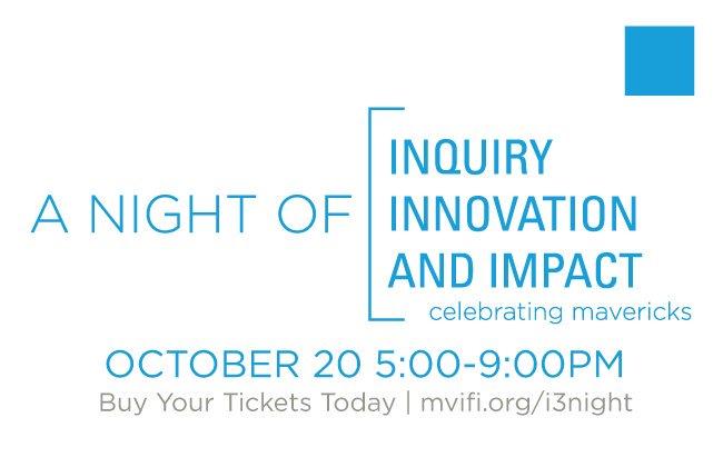 Excited for A Night of Inquiry, Innovation & Impact! https://t.co/Df3mtPJUuR Celebrating mavericks designing better world! #MVIFI #MVPSchool https://t.co/pAk9sGFqS5