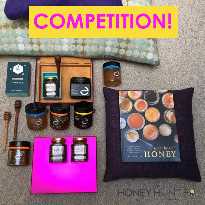 HoneyHunterUK WIN rawhoney and gorgeous beauty Re-tweet this post to enter. Prize info & Ts & Cs: