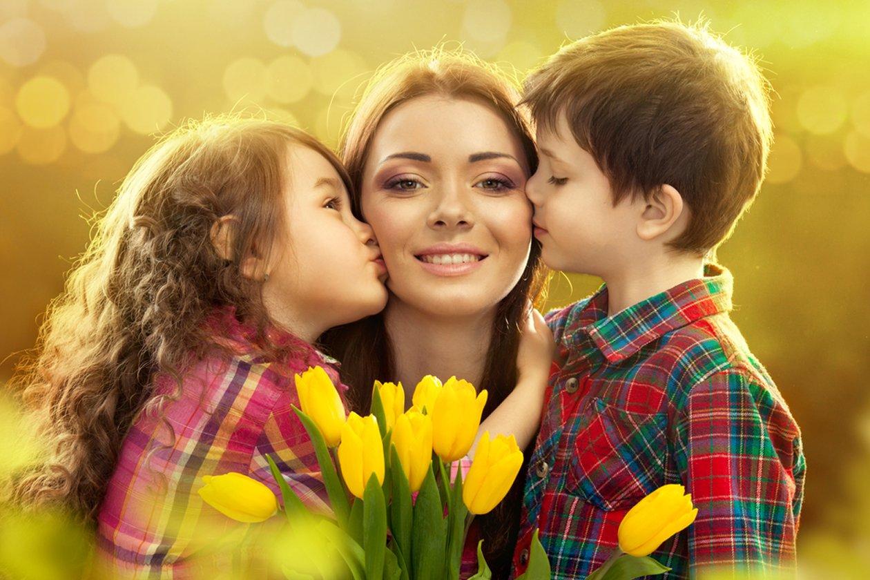 Картинка женский день для детей