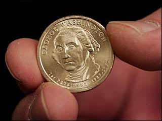 do not accept new dollars coins -they have taken 'in GOD we trust' off of them 4 a reason. #MKULTRAmindcontrol