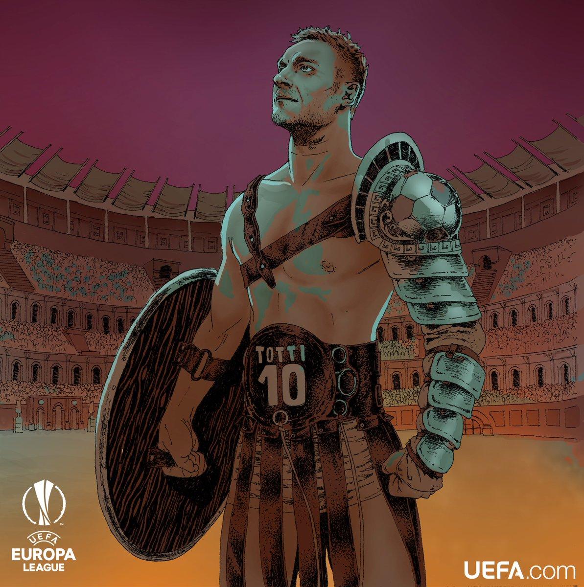 УЕФА поздровляет Тотти