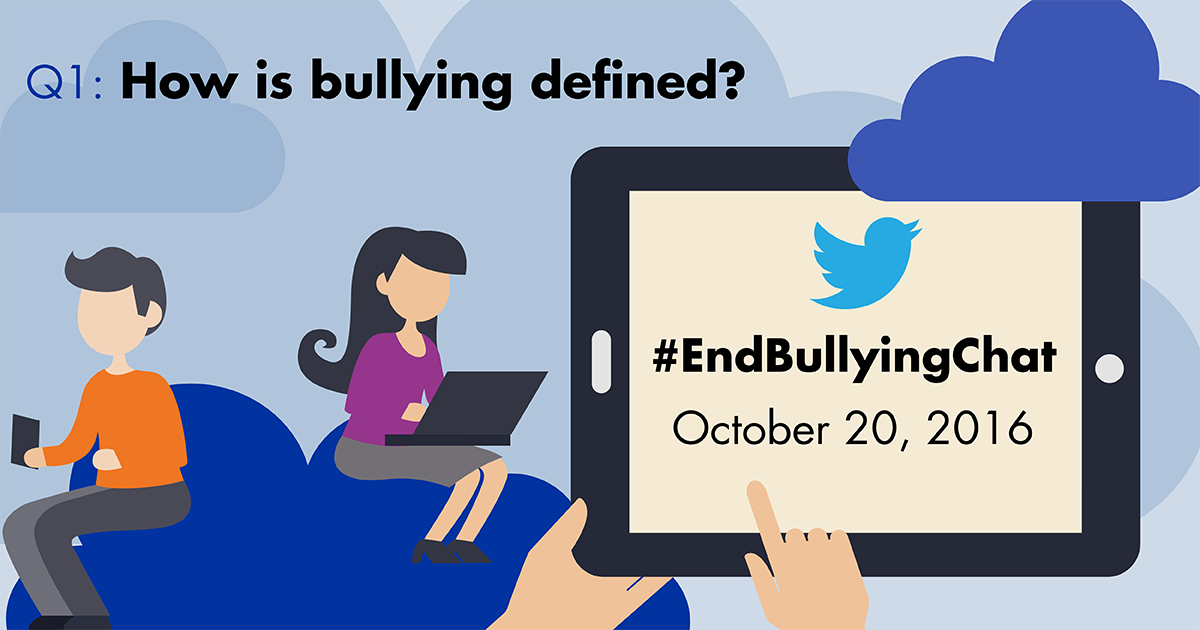Thumbnail for #Endbullyingchat - October 20, 2016
