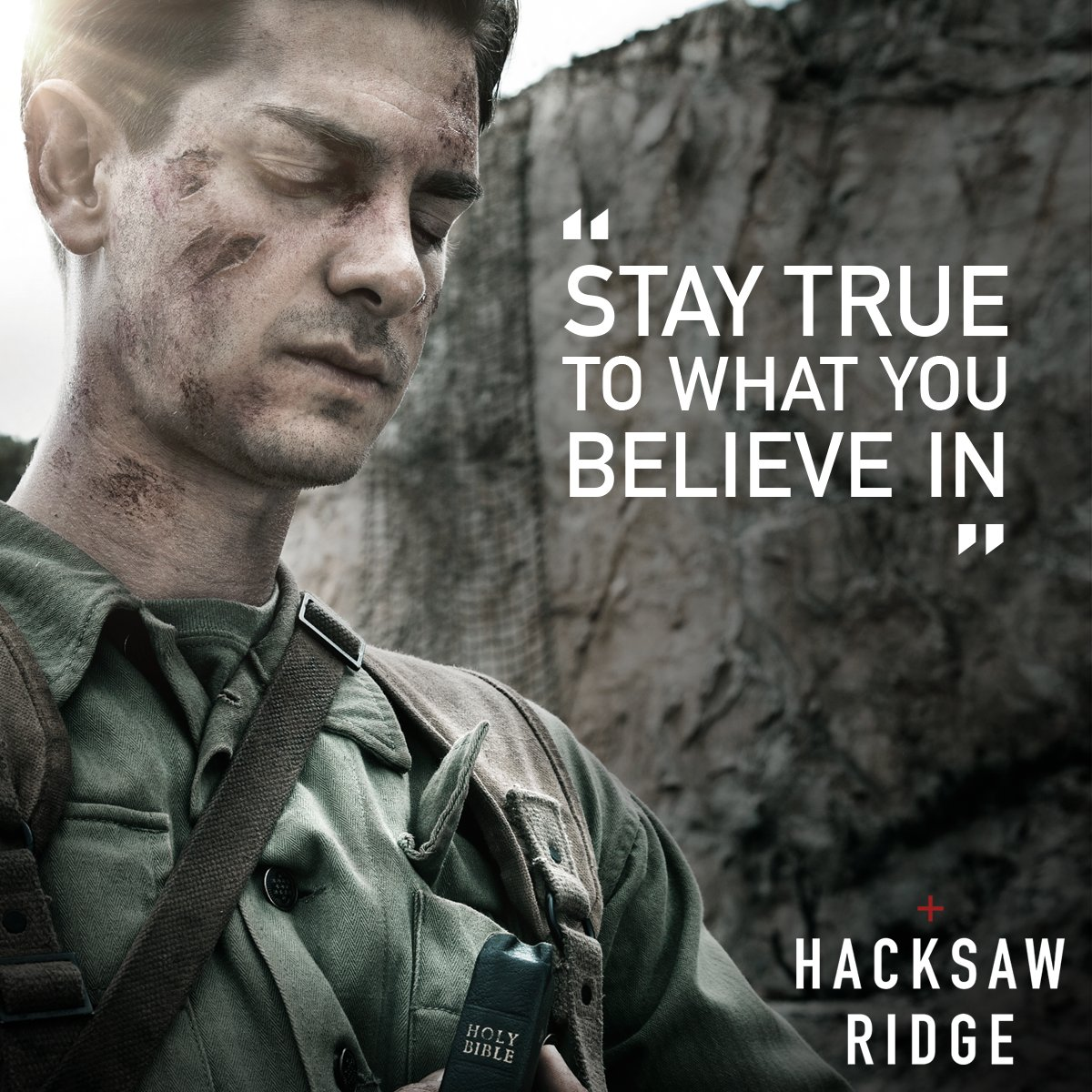 Hacksaw Ridge On Twitter Desmond Doss Andrew Garfield Always Stood Up For What He Believed In Hacksawridge