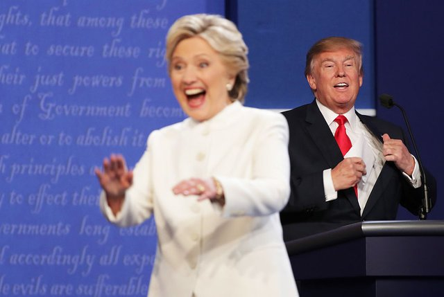 Trump Will Have To Share A Laugh With Hillary At Tonight's Al Smith Dinner, Wish Him Luck!