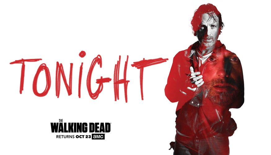 Is it Rick's last day on Earth? #TWD Season 7 premieres tonight at 9|8c.