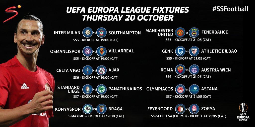 Supersport : LIVE UEL matches SuperSport match watching