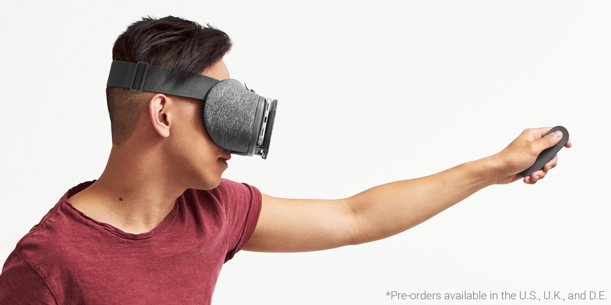 Google puts Daydream View VR headset up for pre-order