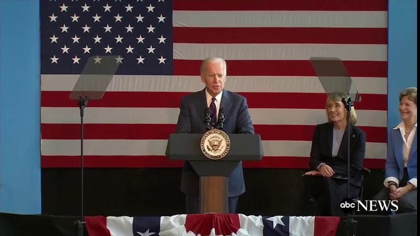 LIVE: @VP Joe Biden campaigns for Hillary Clinton in Nashua, NH