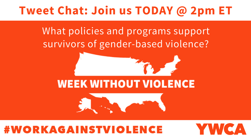 Join us as we discuss policies and programs that best support victims of gender-based violence. #WorkAgainstViolence #EndGBV @YWCAUSA #DVAM https://t.co/ekKdF7YvQf