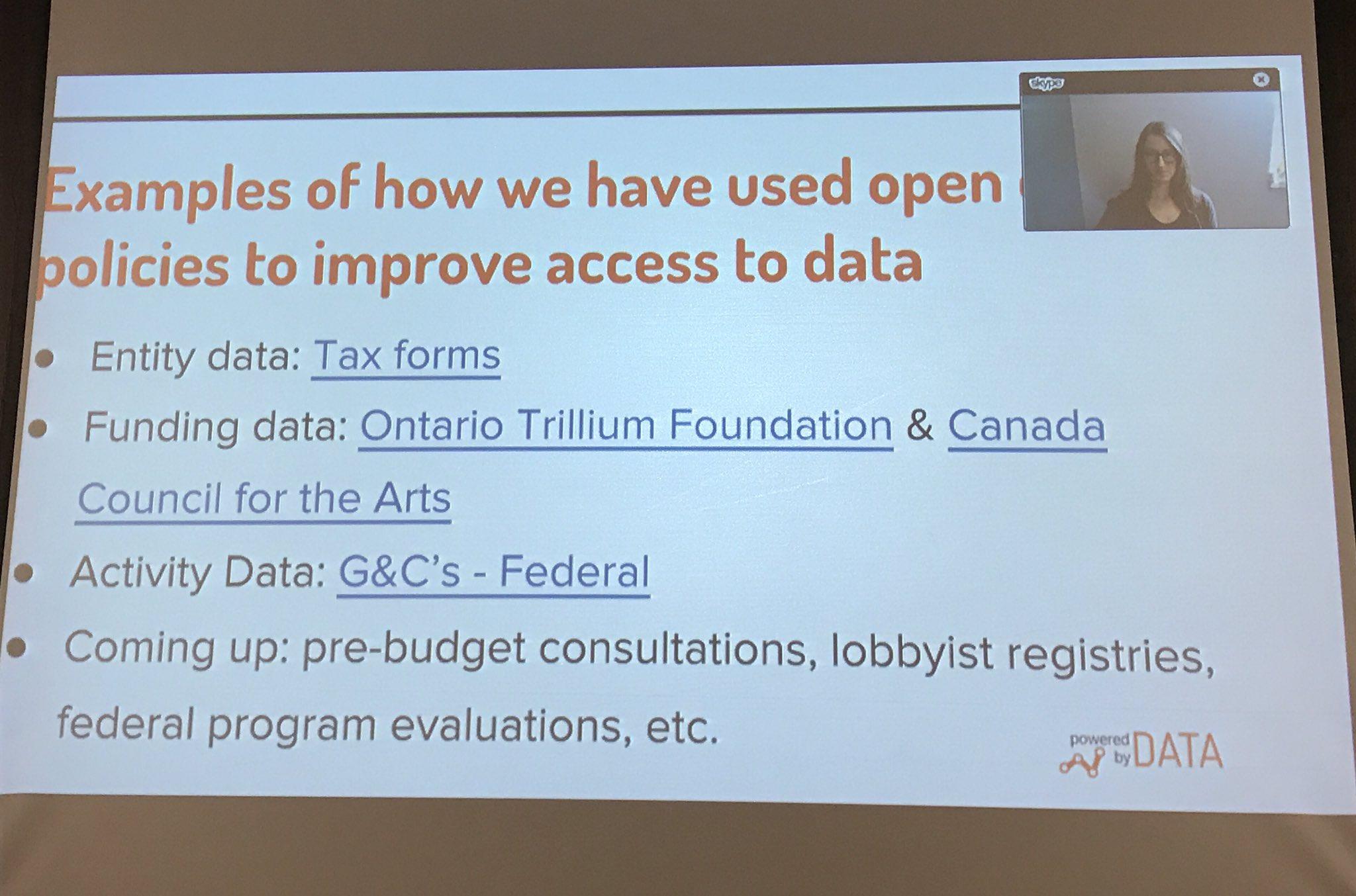 @CanadaCouncil Canada Council, a leader in open data https://t.co/vPQus6e7Zl