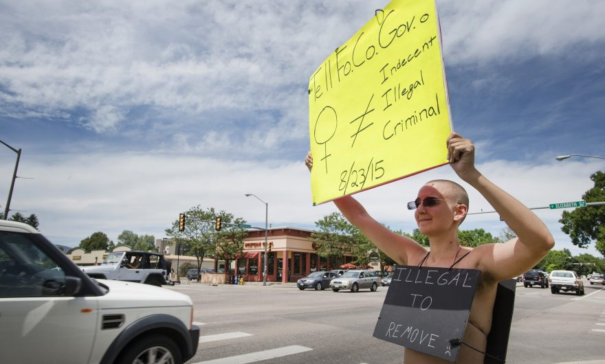 Federal judge refuses to dismiss Free the Nipple lawsuit against Fort Collins