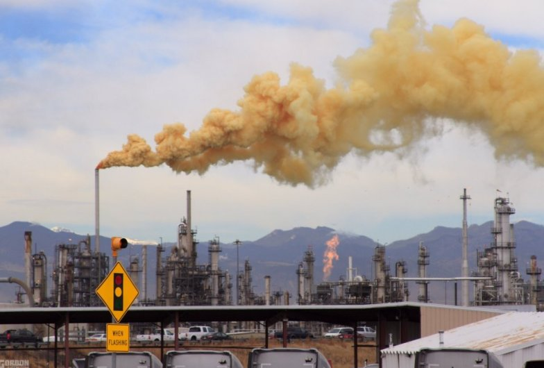 State health department says orange Suncor emissions are not a concern