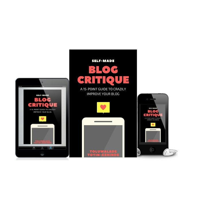 blog critique ebook