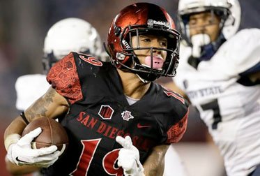 SDSU's Pumphrey can continue to climb NCAA rushing chart