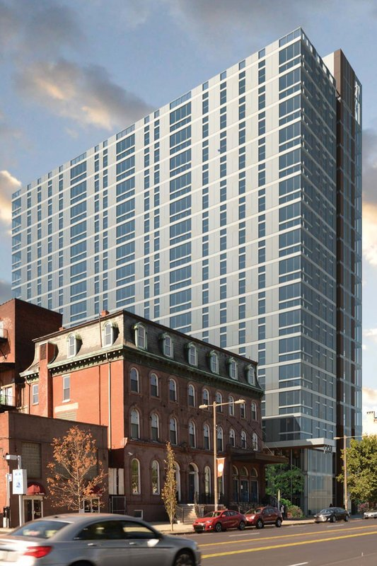 17-story residential tower planned for North Broad Street near Freedom Theatre.