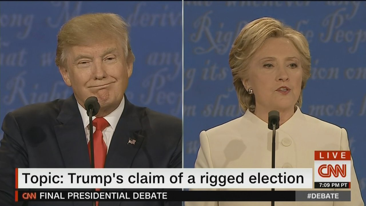 "#DonaldTrump Uses Final Debate to Double-Down on Claim That Emmys Were ""#Rigged"" https://t.co/bBDqwUCvCd https://t.co/mcVLfbi939"