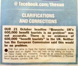"""The Sun is trying to get @GaryLineker sacked for """"peddling lies about migrants"""". I'll just leave this here https://t.co/Ak8A8Zk1tU"""