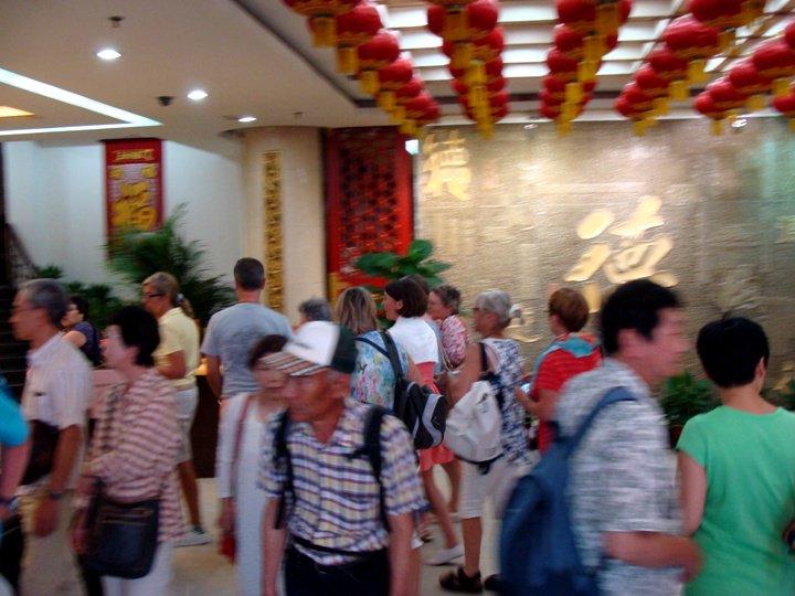 憶北京烤鴨香 見菲總統吃烤鴨