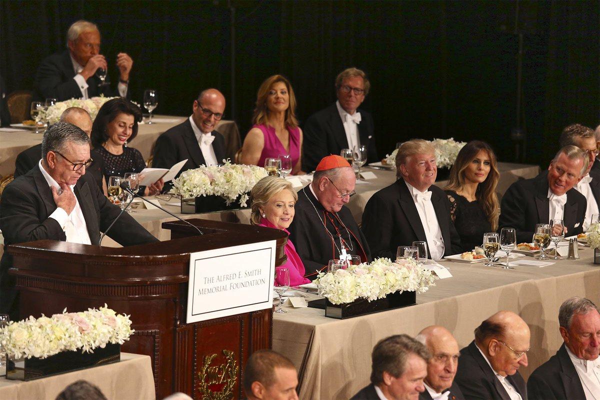 Live tonight in the Grand Ballroom - #AlSmithDinner  #waldorfmoment https://t.co/IA3avflfbi