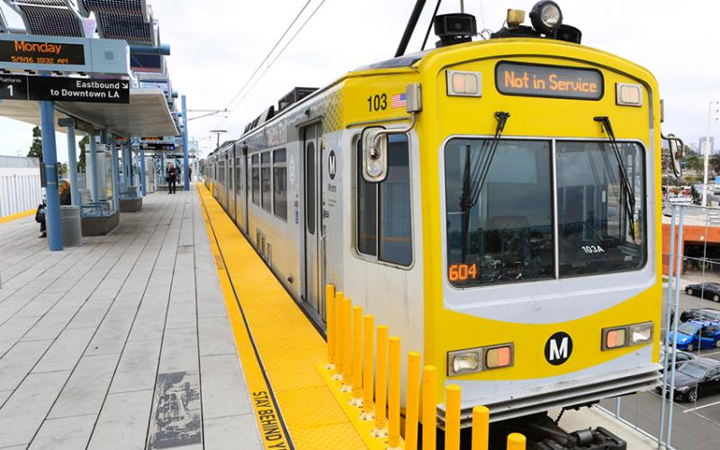 Expo trains to arrive every six minutes beginning Sunday