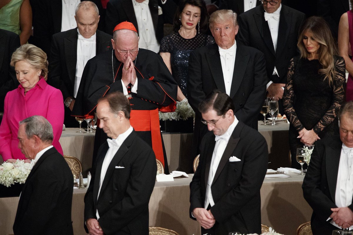 One of these things is not like the other #AlSmithDinner https://t.co/u2fLdAmyXn