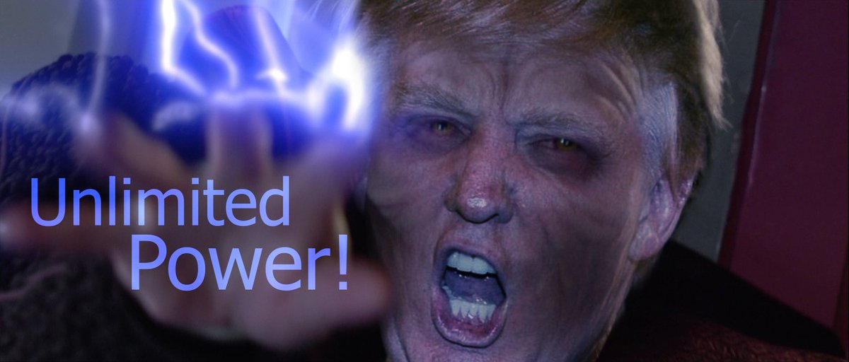 Image result for trump palpatine unlimited power