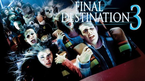 16 FINAL DESTINATION 3: I watched this 100% just because I was at Hershey Park over the weekend... ¯\_(ツ)_/¯ #31HorrorFilms31Days https://t.co/YmW8yXETNG