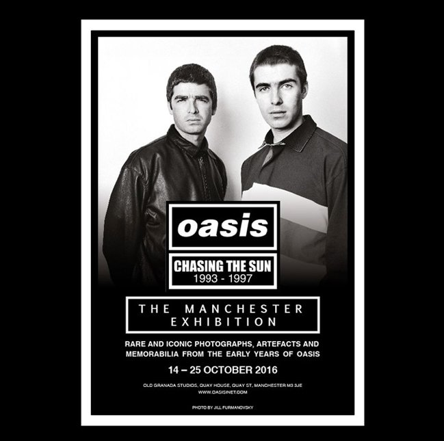 Oasis Chasing The Sun Ogs Exhibition