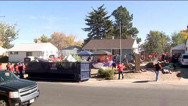 Denver veteran gets backyard makeover