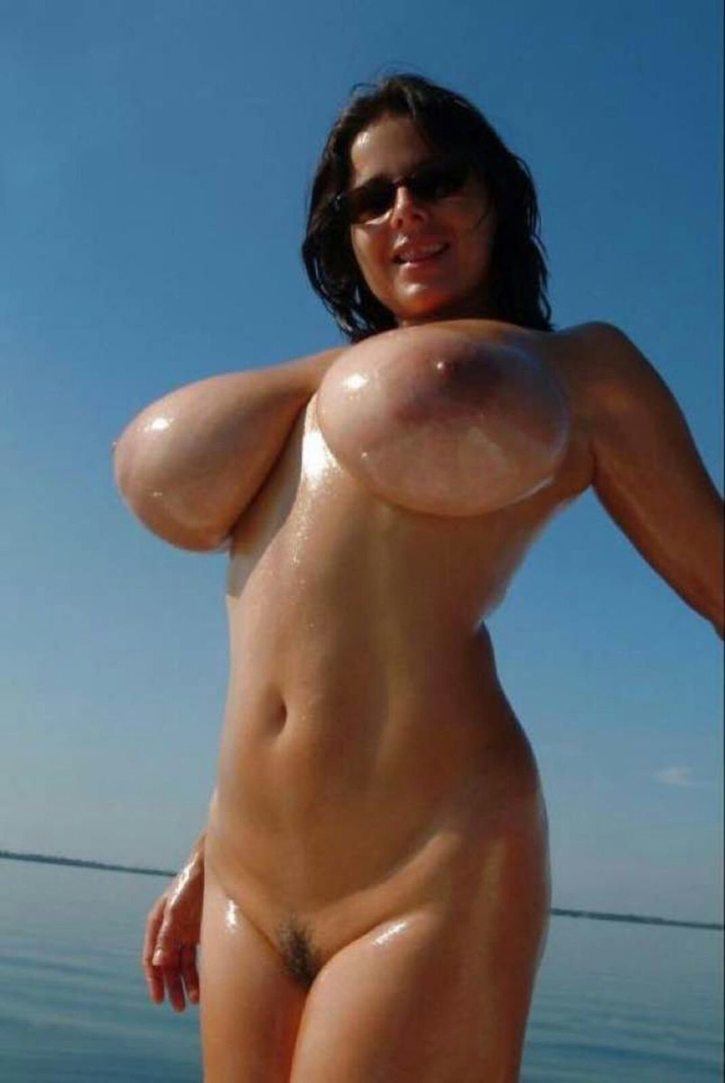 Short with big boobs topless
