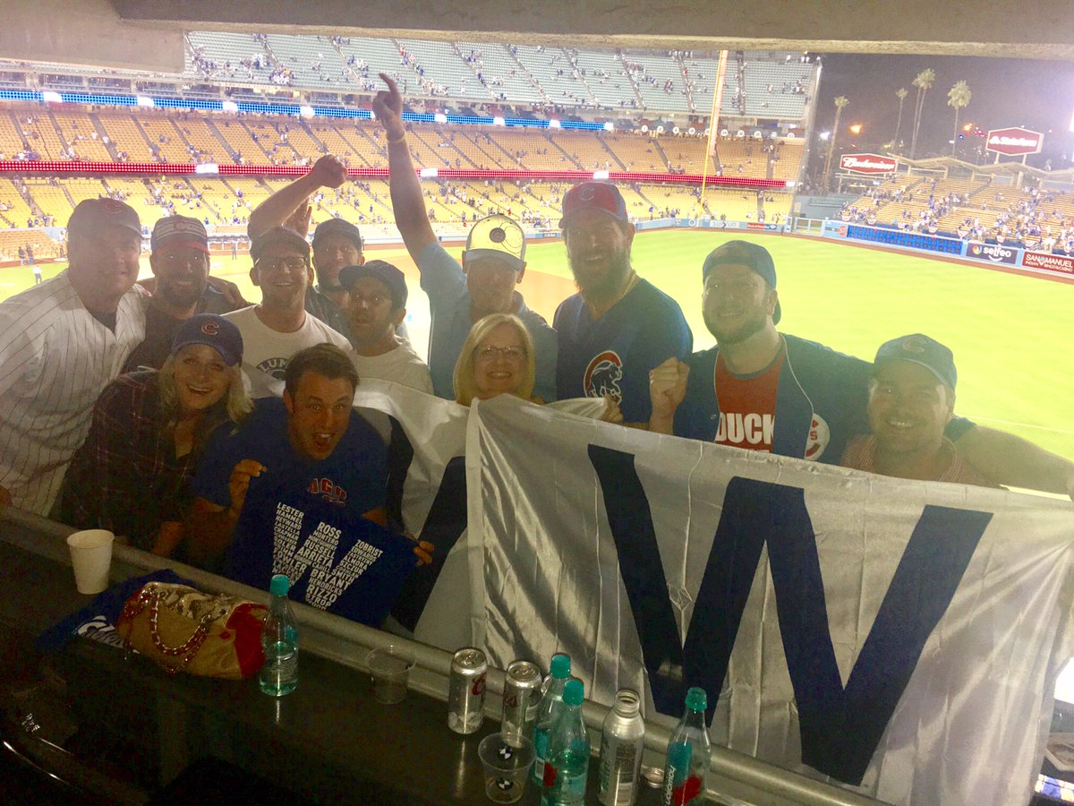 Cubs Win! #flytheW Go Cubs Go! @Cubs #ChicagoPals #bringingithome https://t.co/j1gLDCd4S8