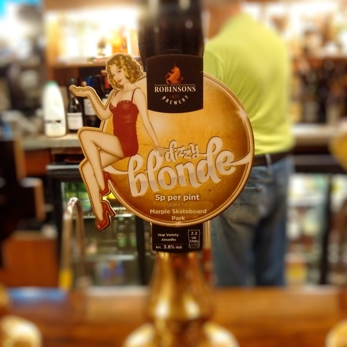 Dizzy Blonde at The Ring o' Bells