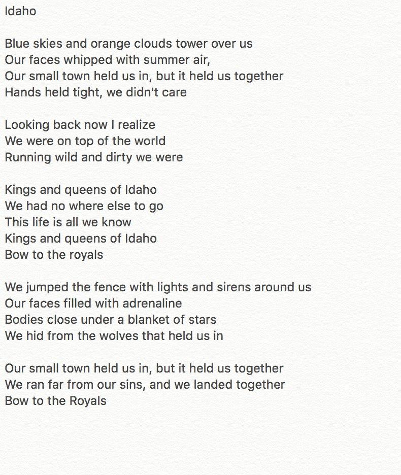 Lyric all i know lyrics : Bryan Lanning ➳ on Twitter: