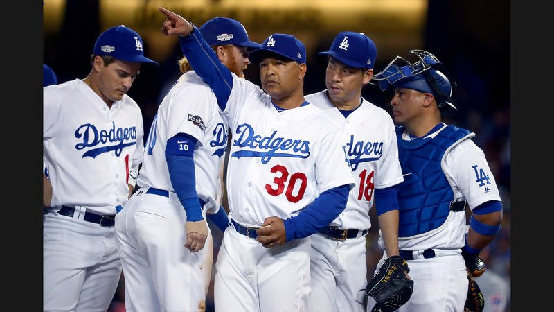 Dodgers face elimination with 8-4 loss to the Cubs in Game 5 of NLCS