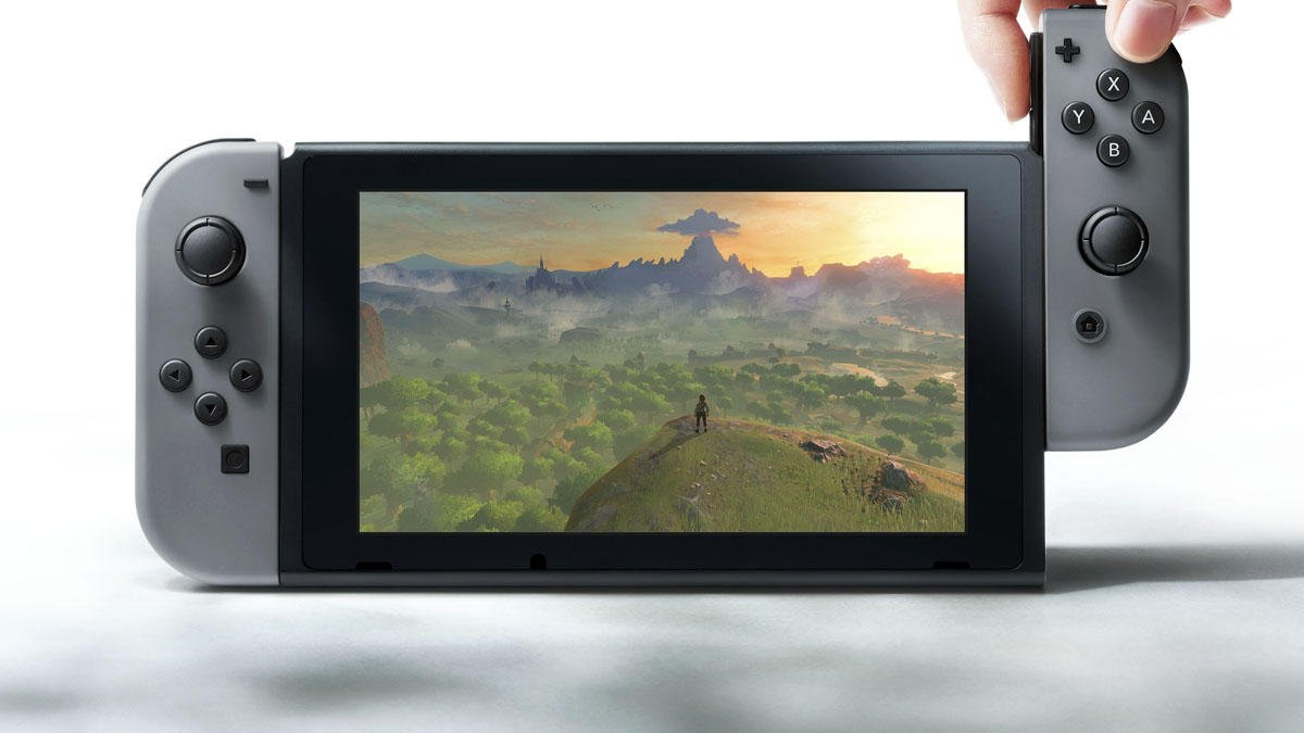 Nintendo unveils switch gaming console