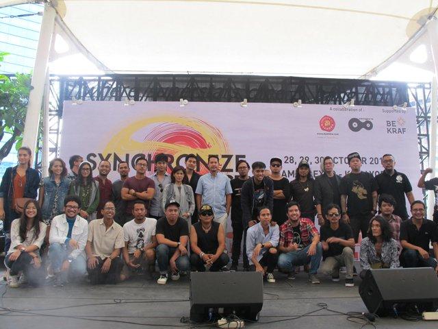 Synchronize Fest, Hadirkan 104 Musisi Multi Genre  https://t.co/icAT92bQQs https://t.co/4fPlRbCxbc