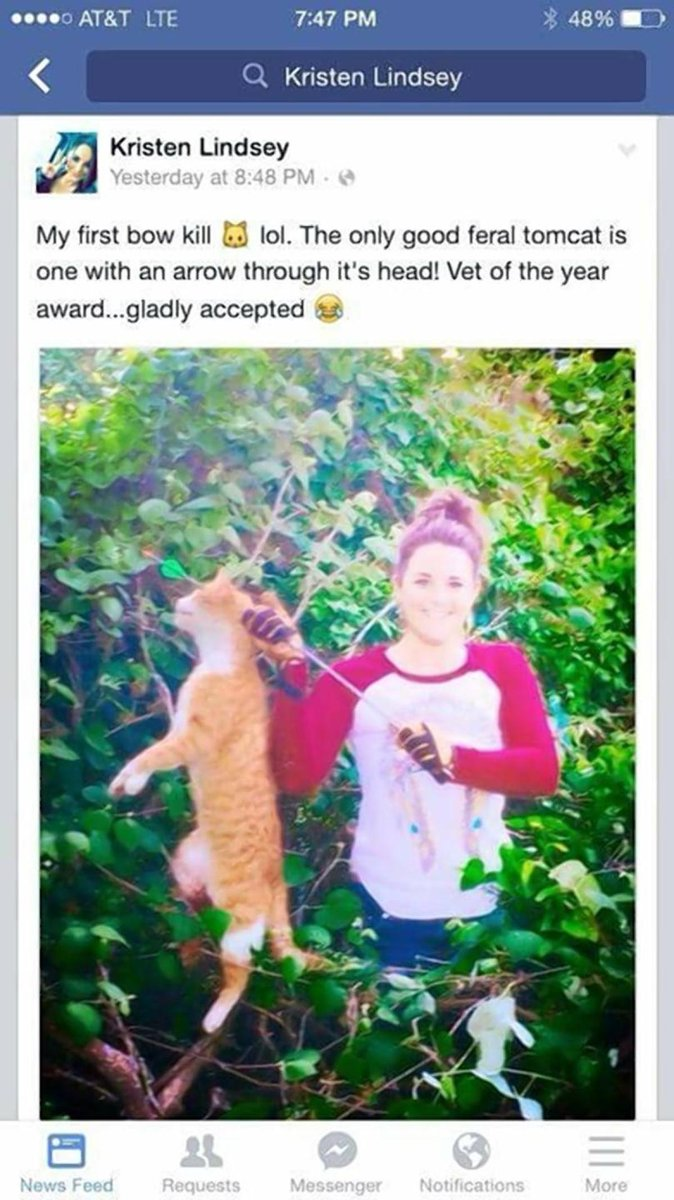 One Texas veterinarian has lost her license for posting a photo boasting about killing a cat