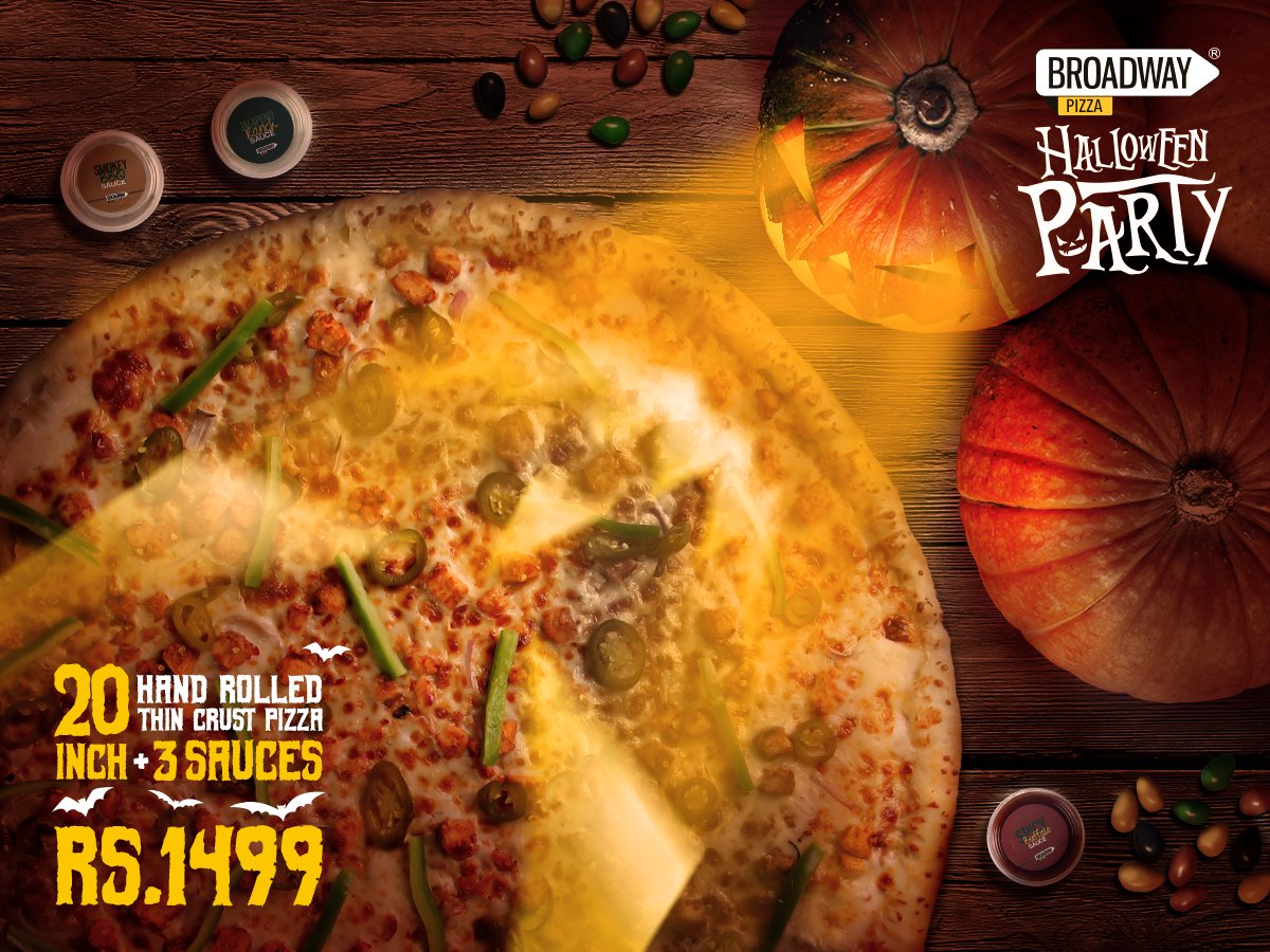 Broadway Pizza On Twitter Whos Ready For Halloween Grab
