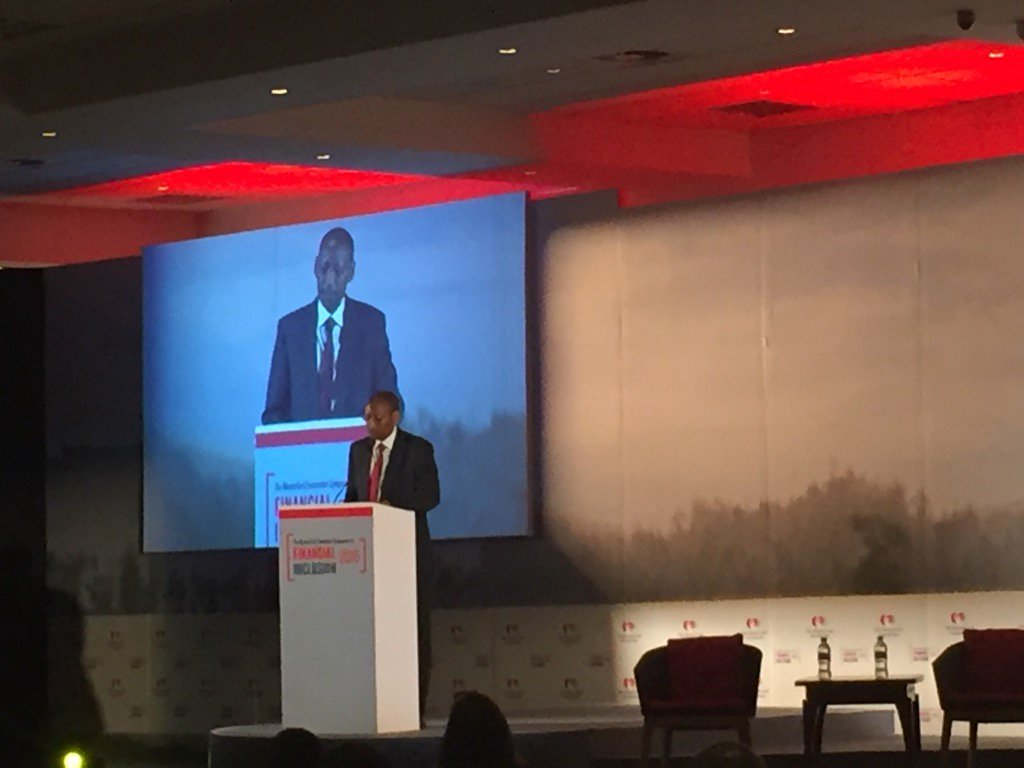 Governor @rwangombwajRW opens Day 2 of #SoFI2016 reminding us #FinancialInclusion is a prereq for inclusive growth https://t.co/EokDZWNm71