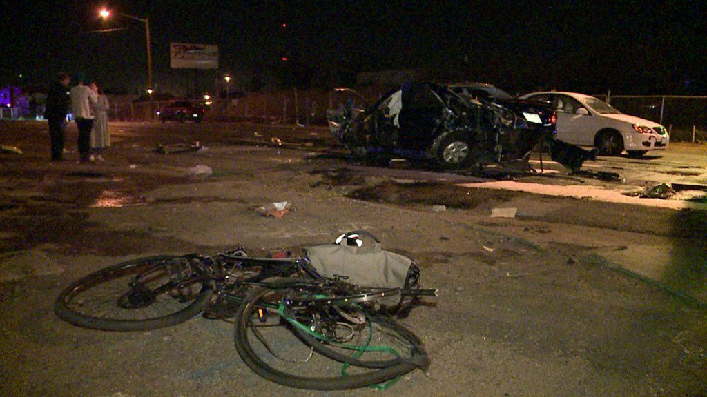 2 transported after multi-car accident on Brighton Boulevard in Denver