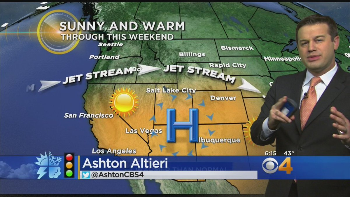 Latest Forecast: Dry And Warm Through The Weekend