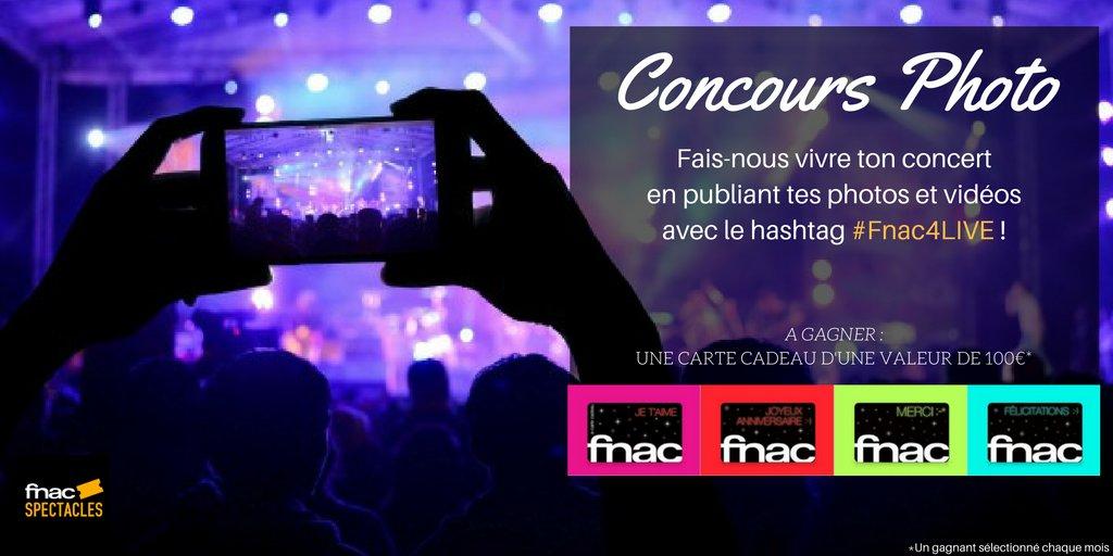 Carte Cadeau Fnac Concert.Fnac Spectacles On Twitter Nouveau Tout Au Long De L